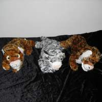 Guardian Angel Heart Teddy Bear Stuffed Animal Plush Toy Closeouts Gift Tiger